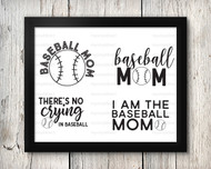 Baseball Mom Digital File Pack