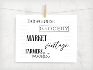 Vintage Farmhouse Digital File Pack