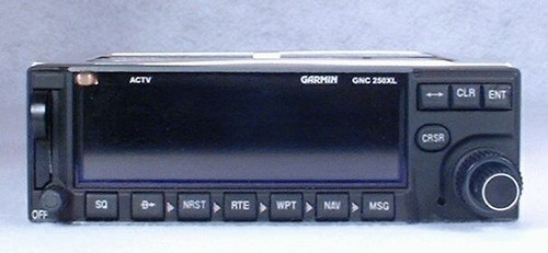 GNC-250XL VFR GPS / Moving Map / COMM Transceiver Closeup