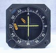 ID-825 VOR / LOC / Glideslope Indicator Closeup