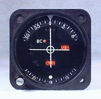 IN-386A VOR / LOC / Glideslope Indicator Closeup
