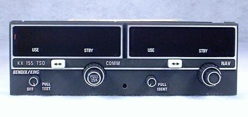 KX-155 NAV/COMM, 28 Volts Closeup