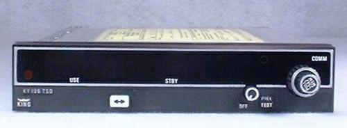 KY-196 COMM Transceiver Closeup