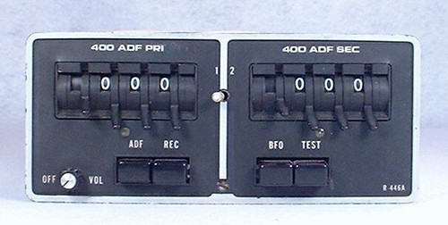 R-446A ADF Receiver Closeup