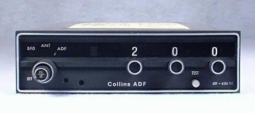 RCR-650A ADF Receiver Closeup