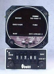 TRI-NAV, TN-200 VOR/LOC System Closeup