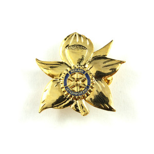 Rotary Flower Brooch