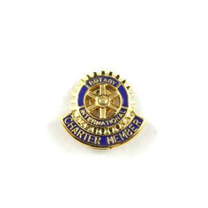 Rotary Charter Member Lapel Pin