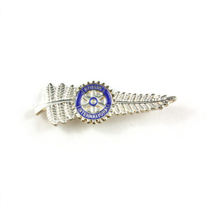 Rotary New Zealand Fern Lapel Pin