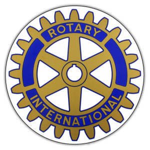 Rotary Legacy Logo Round Sticker