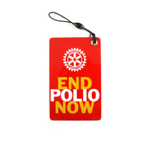 End Polio Now Luggage Tags