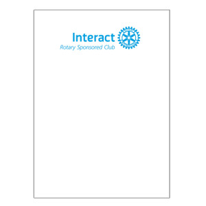 Interact Blank Certificate