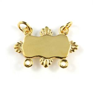 Gold Collar Bar - Fins