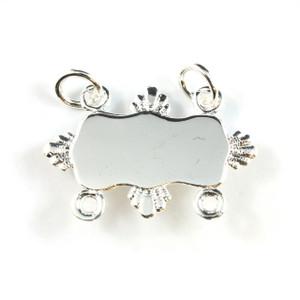 Silver Collar Bar - Fins