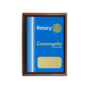Rotary Community Service Plaque