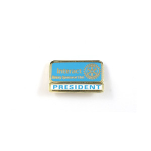 Interact President Lapel Pin