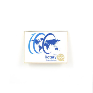 The Rotary Foundation Centennial Lapel Pin