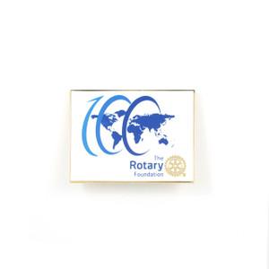 The Rotary Foundation Centennial Lapel Pin