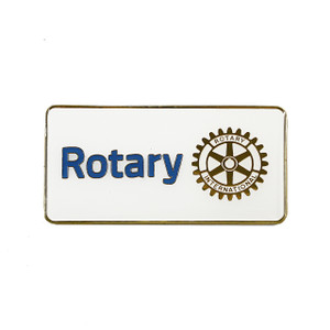 Rotary Masterbrand Flat Metal Emblem