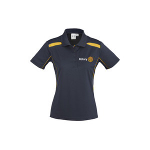 Rotary United Ladies Polo Shirt