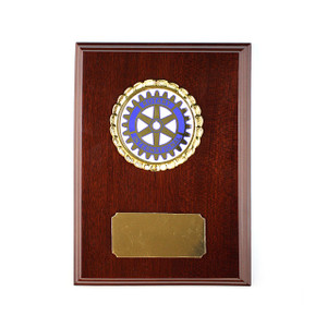 Rotary Legacy Logo Plaque