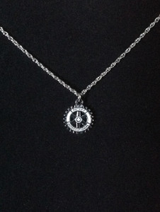 Silver Emblem necklace
