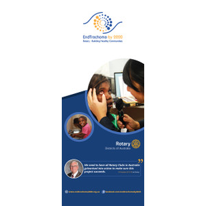 End Trachoma by 2020 Pull-up Banner