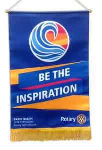 Rotary 2018-19 Theme Podium Banner