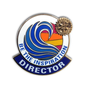 Rotary 2018-19 Theme Director Lapel Pin