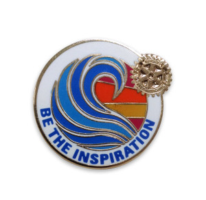 Rotary 2018-19 Theme Magnetic Lapel Pin