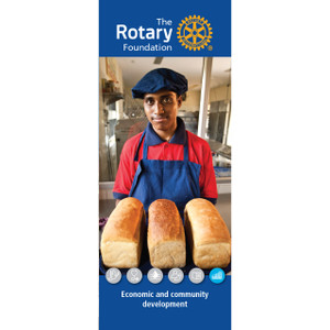 Rotary Foundation Community Pull-up Banner /1