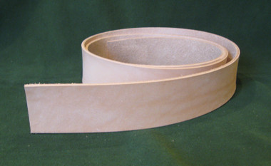 "1.75"" 8-9 oz. Veg Tan Cowhide Tooling Leather Belt Blank for Strops Slings Guitar Straps Bags Western Tack etc."