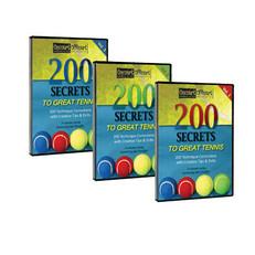 200 Secrets to Great Tennis (3-Volume Set)