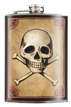 Skull & Bones Flask