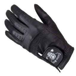 Black Cabretta Leather Men's Golf Glove