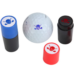 The ONLY way to mark your balls!  These self-inking stamps are the easiest and quickest way to mark your balls and now you have two choices of color, blue and red.
