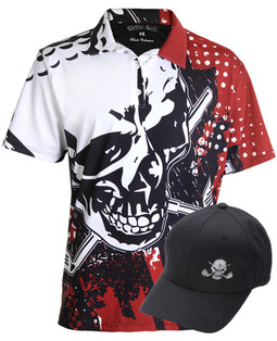 Blade Polo & Golf Hat (Red)