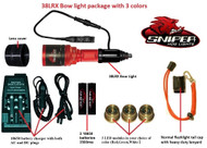 38LRX Bow Light Package with 3 colors