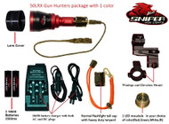 50LRX Gun hunters package with 1 color