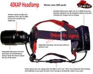 40KAP Headlamp