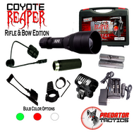 Predator Tactics: Coyote Reaper- Rifle & Bow Edition Kit (RED/GREEN/WHITE)