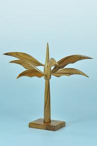 Elite Natural Palm Tree Earring Display