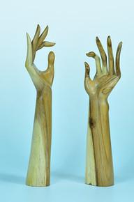 "Elite Natural 15"" Tall Hand Display"