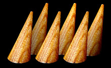 "2"" Natural Ring Cone ( Set of 6 )"