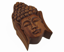 Wood Buddha Box
