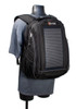 The Eclipse Solar Backpack, Black/Gray, stand