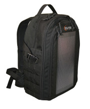 The Photo Pro Solar Backpack, Black