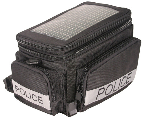 The Police Solar Bike Bag, black