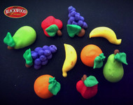 Blackwood Lane - Assorted Fruits Cake Toppers (12pcs)
