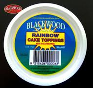 Blackwood Lane - Rainbow Cake Toppings (120g)
